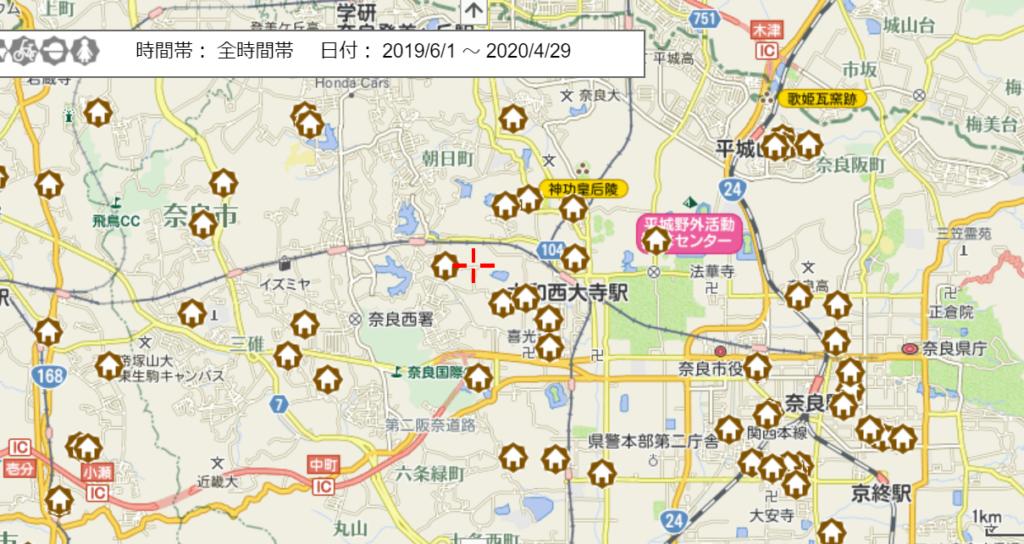 空き巣等住宅対象侵入窃盗犯(奈良市)