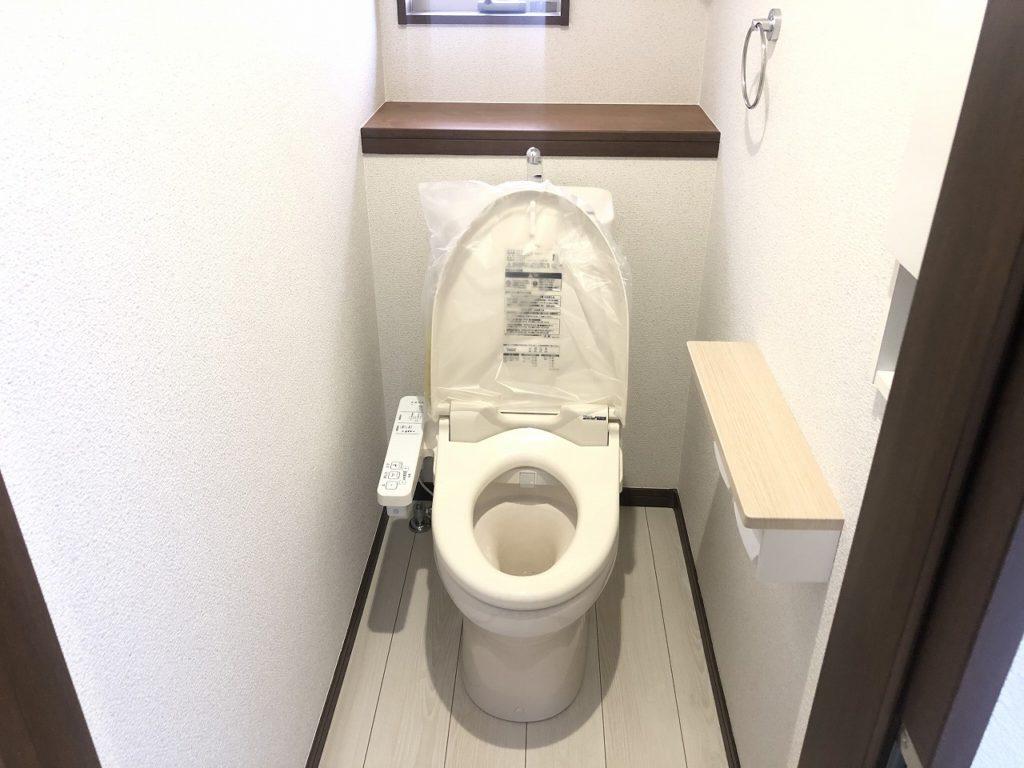 アイディホーム・リナージュシリーズのトイレ