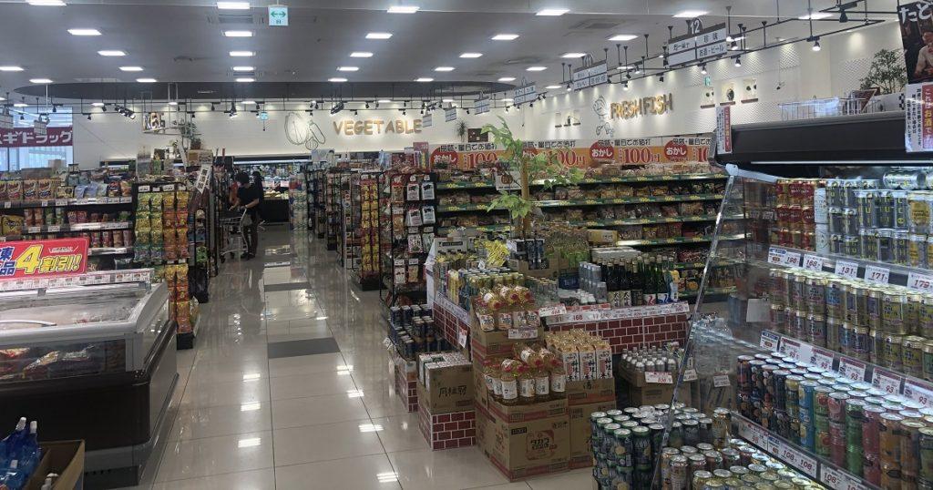 中村屋梅美台店(木津川市)の店内の様子