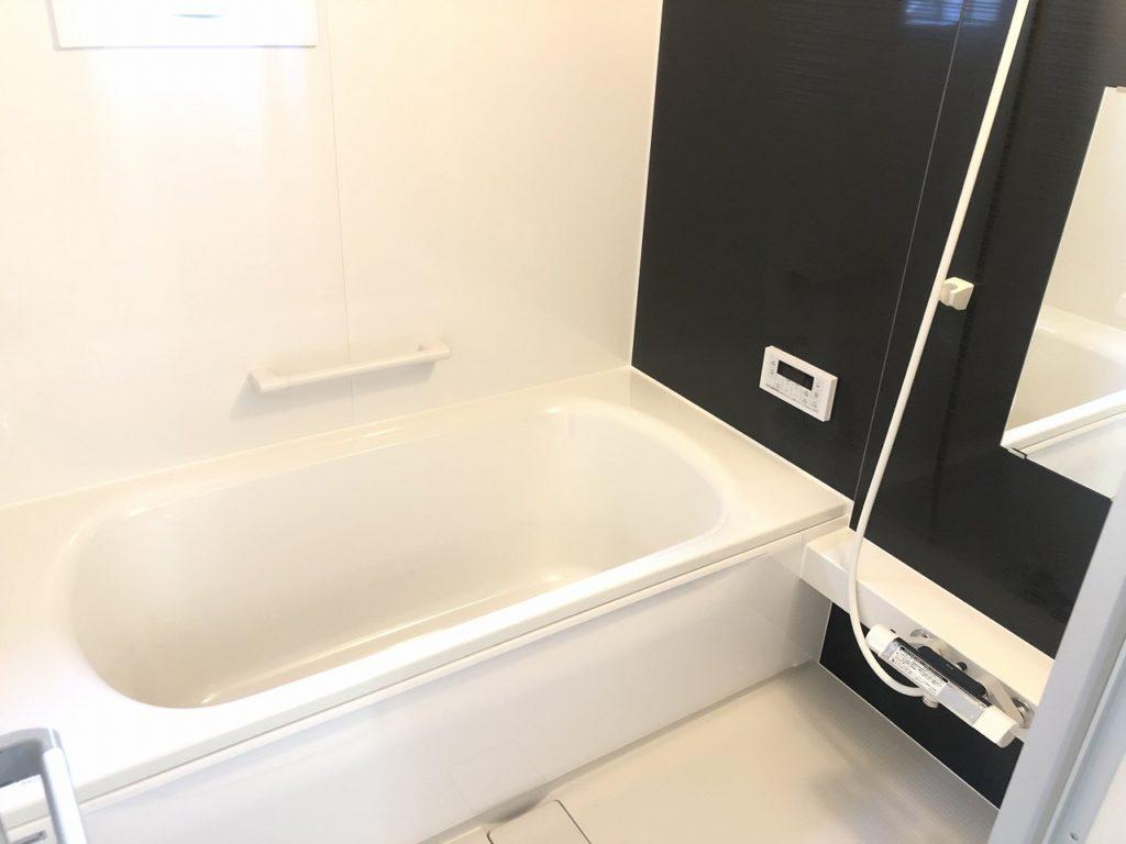 現地浴室写真・斑鳩町龍田北・新築一戸建て