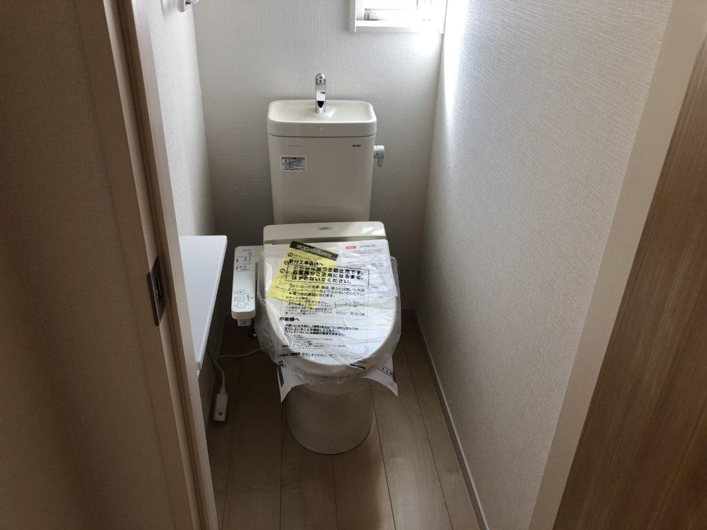 三郷町立野南新築一戸建てのトイレ写真